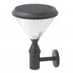 Aplique Ra Solar 6w 6500k Sensor Crepuscular Grisip44 Interruptor De Corte 38x26dx18