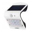 Aplique Solar 1,5w 4000k+6000k Solaris Blanc 220lm Ip65 Carga Solar Sensor Movil Y Luminic