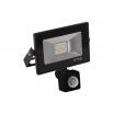 Proyector Kolyma 10w Led C/sensor 6500k Negro