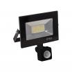 Proyector Kolyma 20w Led C/sensor 6500k Negro